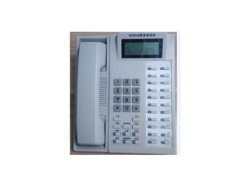 山东国威2进8出电话交换机,新式的国威电话机腾丰网络科技