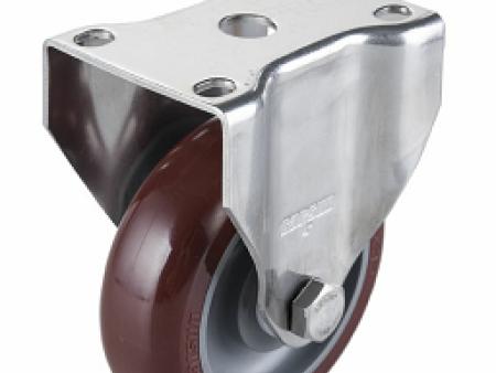 汇一机械设备供应中型4寸万向不锈钢聚氨酯PU轮——丽水聚氨酯竞博JBO|首页
