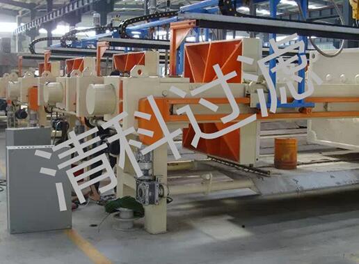 河南程控自动拉板压滤机生产价格——价位合理的程控自动拉板压滤机【供应】