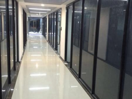 百叶帘隔断图片 北京玻璃隔断设计安装公司