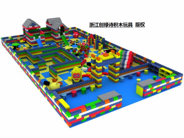 湖南epp积木城堡-浙江创绿诗游乐设备专业供应epp积木城堡