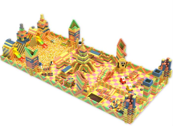 積木樂園十大品牌|選購價格合理的積木樂園,就來浙江創綠詩游樂設備