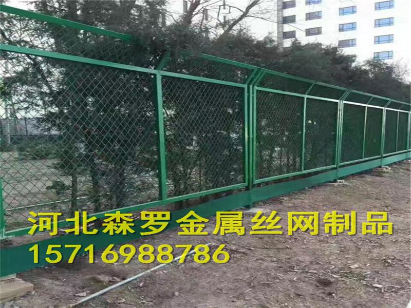 煤矿建筑护栏网 开采用围栏网 带扁铁护栏网