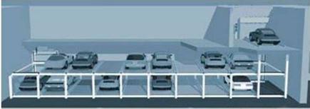 水平循环类立体停车设备厂家直销