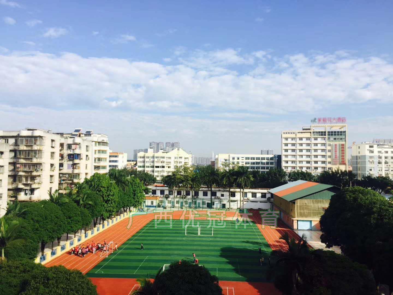 江西优冠体育有品质的塑胶跑道供应 江西学校运动场地施工