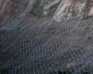 衡水优质的边坡防护网供应商当属冠合丝网制品|山东sns主动包塑边坡柔性山体防护网被动拦石防落石钢丝绳网