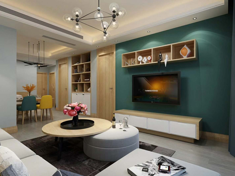 新中式风格 口碑好的宝鸡室内装修就在宝鸡艺凡装饰