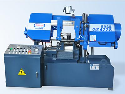 厂家供应数控双柱卧式带锯床_雷霆机械工业提供有品质的半自动双柱卧式带锯床