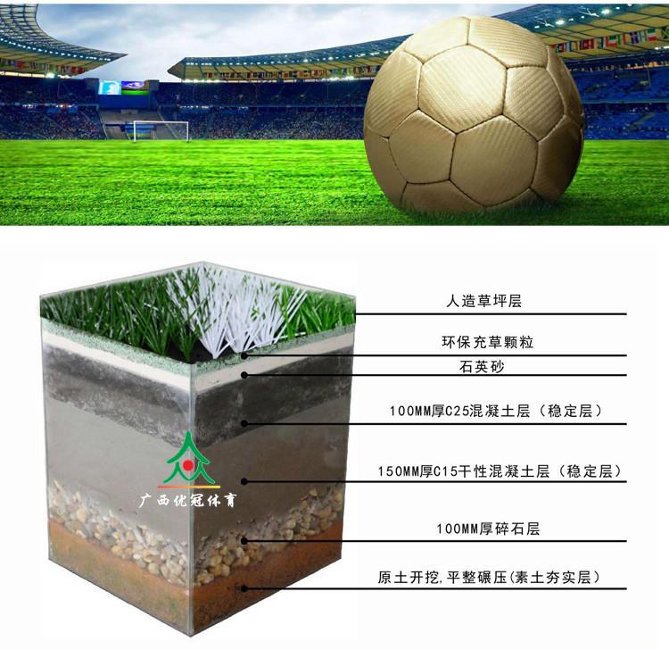 柳州仿真草坪批发厂家_哪里有销售报价合理的人造草坪足球场
