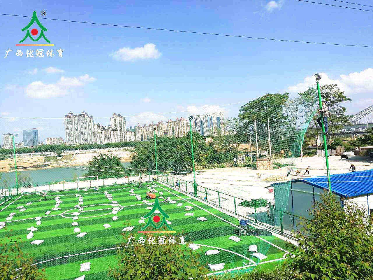 玉林人造草坪批发商-质量好的人造草坪足球场尽在广西优冠体育
