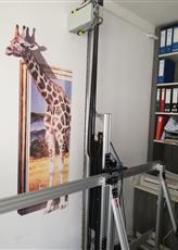 墙体彩绘机 墙体打印机 墙面打印机 北京简之安墙体彩绘机