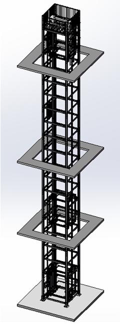 江苏框架式重型往复式垂直输送机厂-专业框架式重型往复式垂直输送机制造商-鑫满益机械