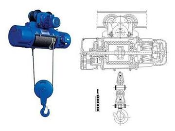 电动葫芦规格_供应有品质的CD1型钢丝绳电动葫芦