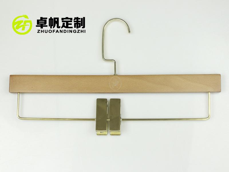 木衣架褲夾-供應實用的木衣架