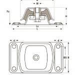 具有性价比的橡胶减振器在哪买 爆销进口橡胶减振器