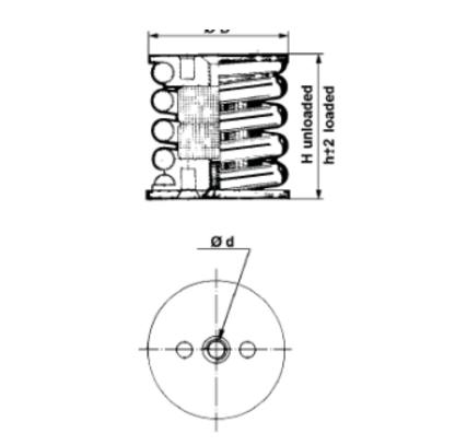 高能进口橡胶减振器_江苏划算的全金属弹簧减振器