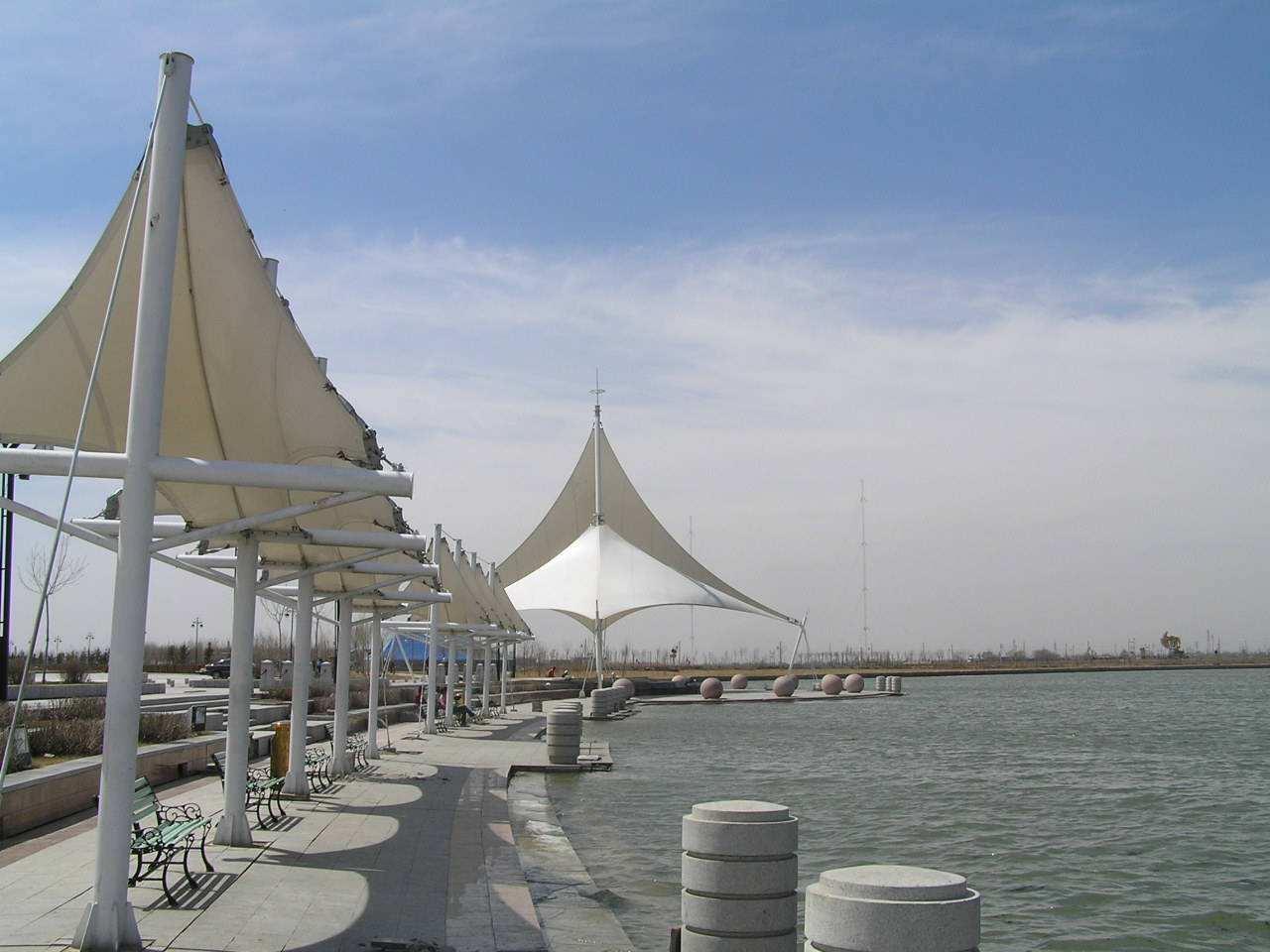 四川膜结构景观造型制作 出售潍坊膜结构景观