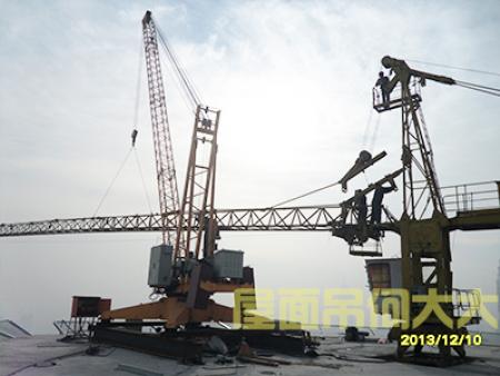 哈爾濱屋面吊租賃廠家-沈陽中川設備租賃質量良好的屋面吊