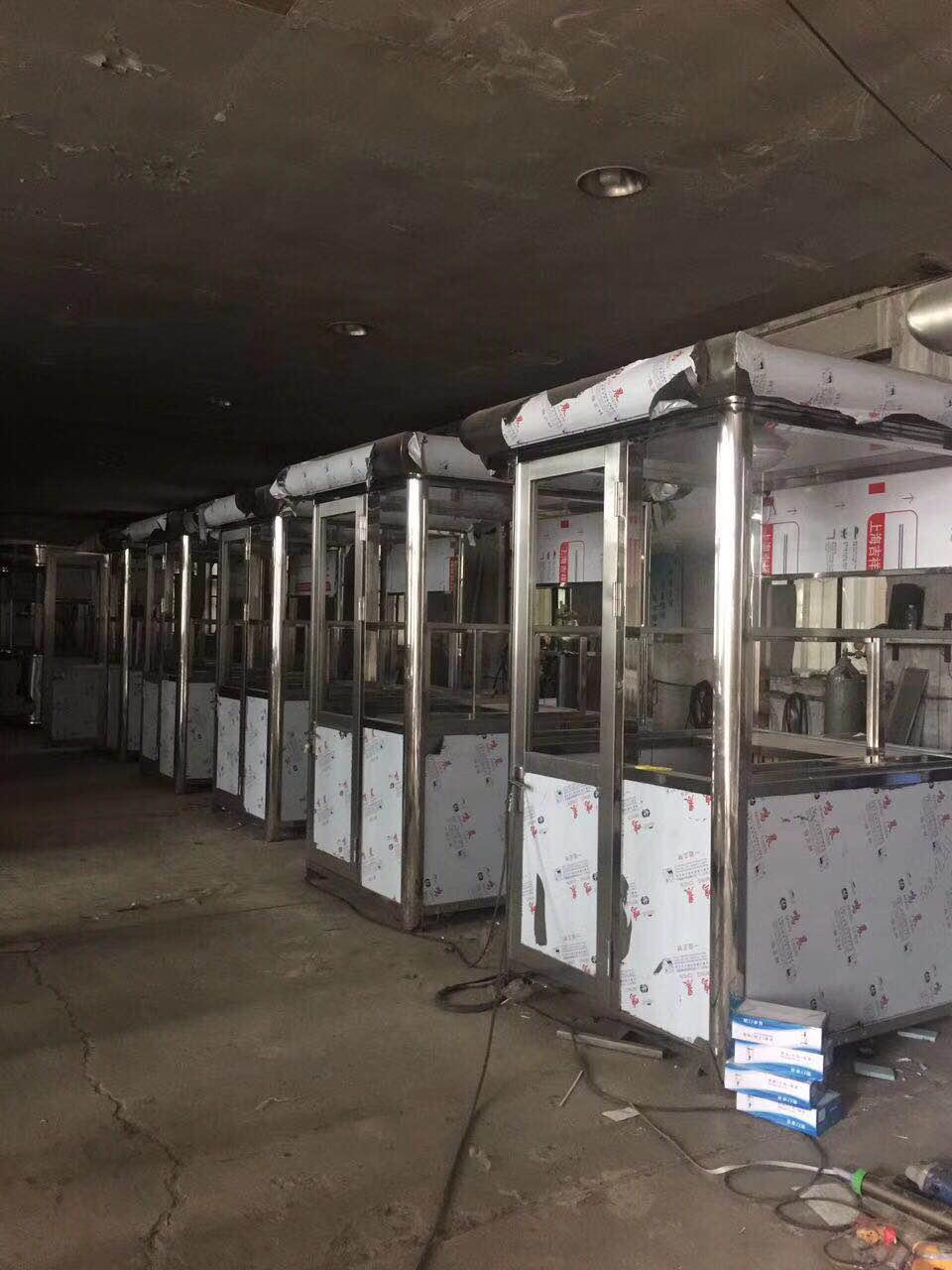 遼寧不銹鋼崗亭-買耐用的不銹鋼崗亭,就來沈陽中隆嘉業金屬