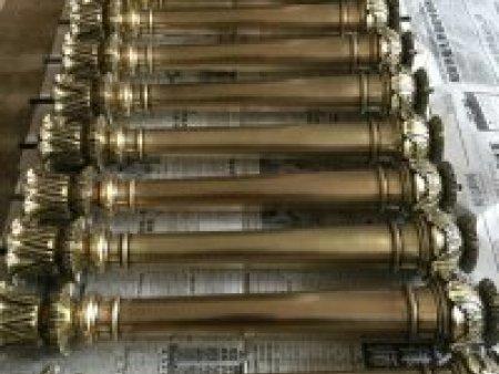 齐齐哈尔铜木扶手供应-热卖铜木扶手天合铜门供应
