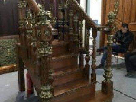 銅木扶手廠家-供應沈陽天合銅門副業加工好用的銅木扶手