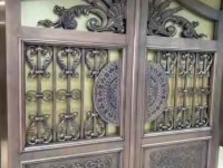 铝艺大门-沈阳天合铜门副业加工_量大从优 铝艺大门