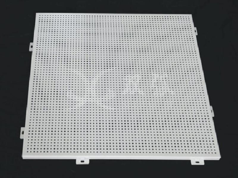 冲孔铝单板信息-佛山供应品牌好的冲孔铝单板