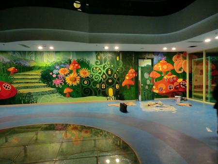 墨道裝飾工程為您提供幼兒園墻畫,涂鴉多少錢