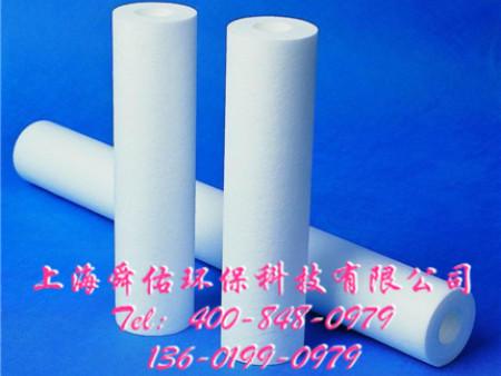 上海舜佑环保科技供应厂家直销的PP熔喷滤芯,pp熔喷滤芯机