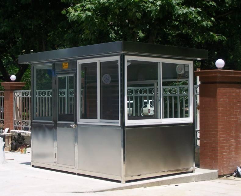 宁夏不锈钢岗亭价格-上等银川不锈钢岗亭就在宁夏金同创交通设备