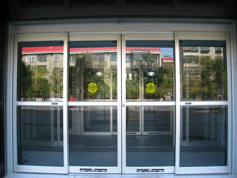 【厂家直销】厦门有品质的玻璃感应自动门——平移门厂家