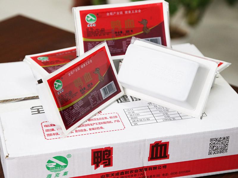 安徽盒装鸭血|山东新品鸭血供应