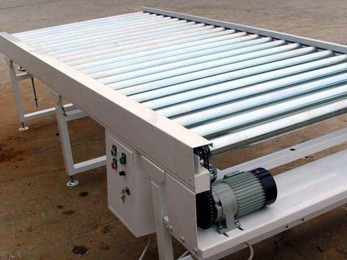 滚筒输送机结构简单,可靠性高,使用维护方便.