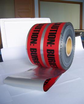 可探测警示带-标志桩认准云翔工程-质优价平