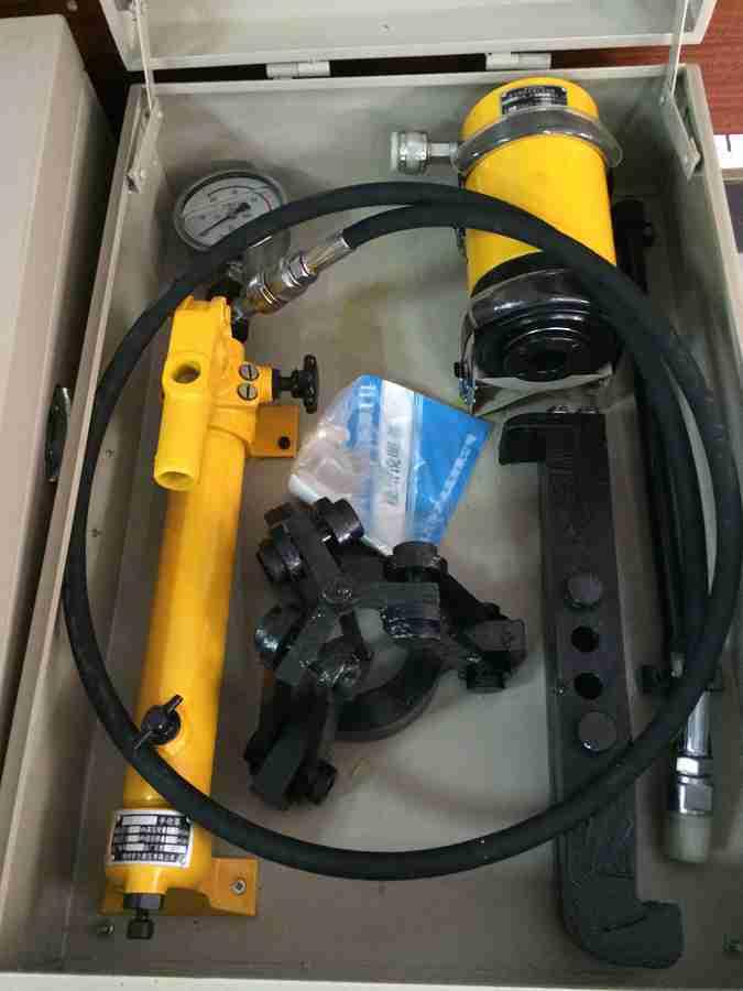 众邦液压专业供应ZYC—AB锥度配合油压拆卸工具