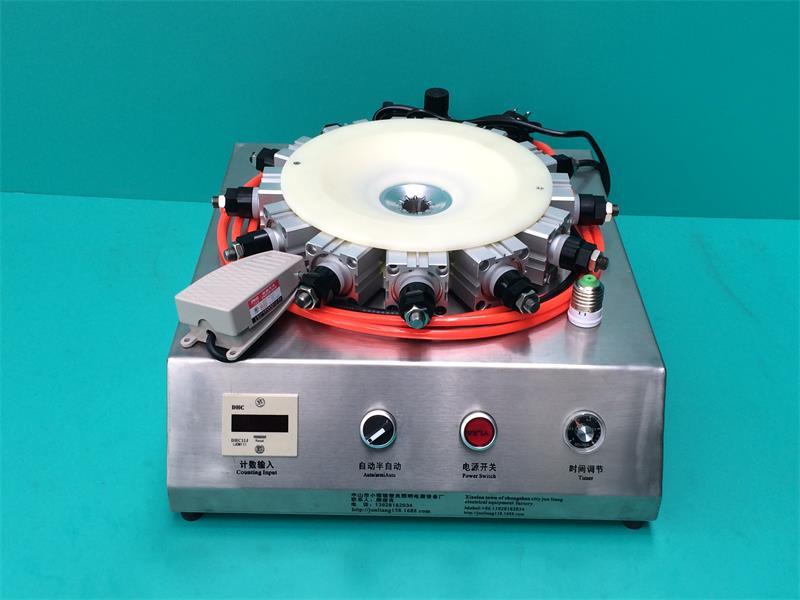 气动箱体式压接机自动灯头机-专业的自动灯头机供应商_俊良设备厂