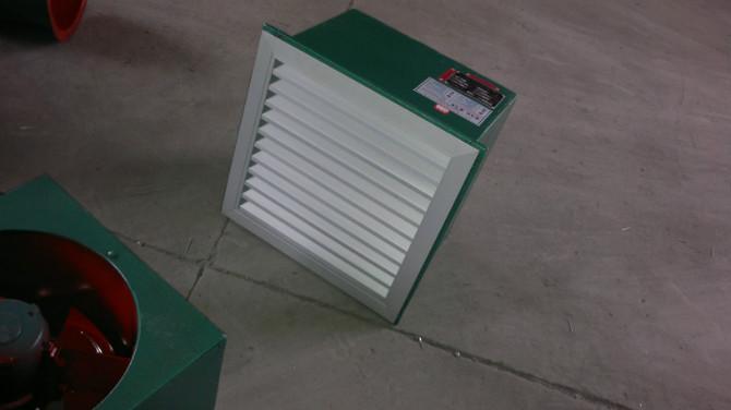 安徽DFBZ方形壁式轴流风机|德州低噪声方形壁式轴流风机找益拓空调