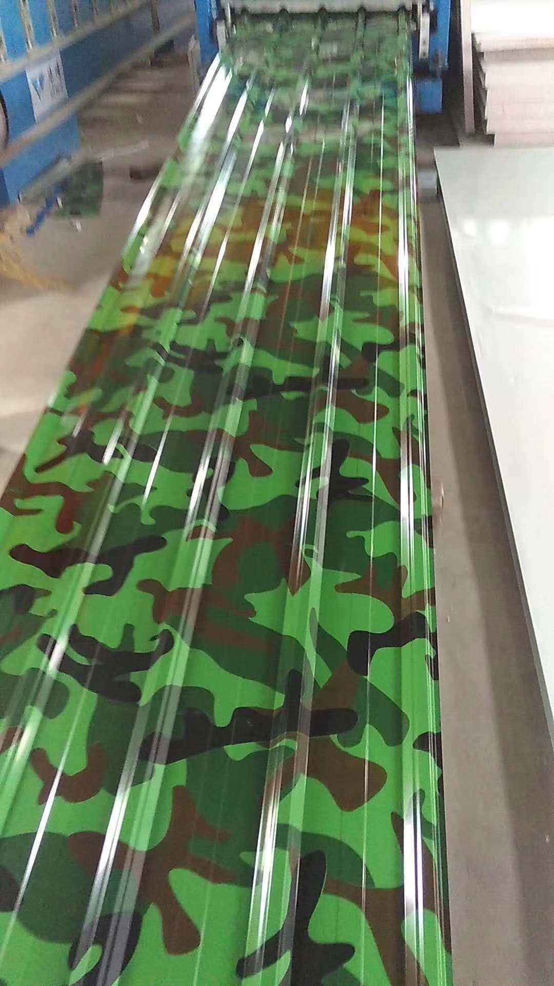 漳州迷彩彩鋼單瓦板-迷彩彩鋼單瓦板推薦