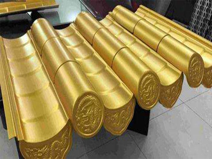 【厂家直销】银川品质好的宁夏金属古建,吴忠金属古建构件价格