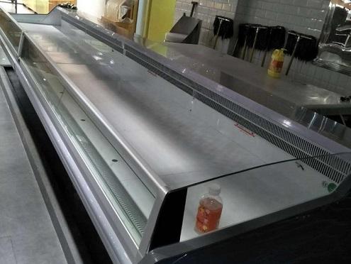 恒太制冷提供有品质的分体双出风冷冻岛柜-熟食柜一般