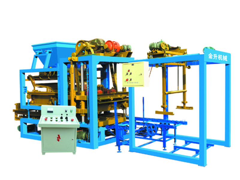 想买质量良好的砌块成型机,就来金升机械厂,西藏全自动液压砌块成型机