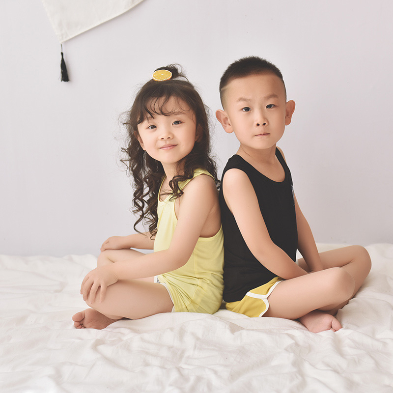趴趴熊纺织专业提供优质的童装背心——青岛童装背心费用