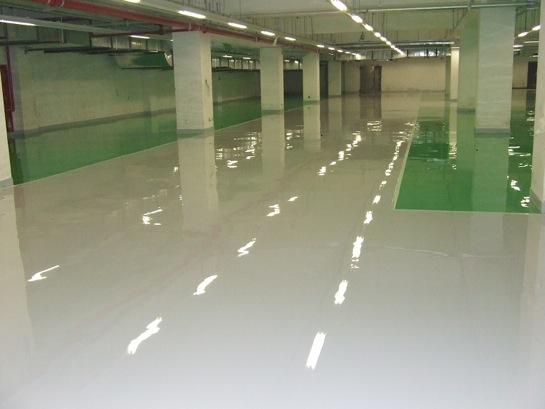 车库环氧地坪工程合作价格费用_咸阳环氧树脂自流平地坪工程