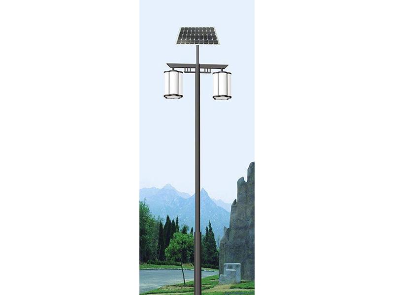 太阳能草坪灯——最知名的太阳能路灯是由何工新能源提供