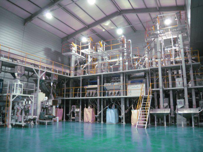 大米加工設備廠家-性價比高的大米鋼架式成套設備,奧盛糧機傾力推薦