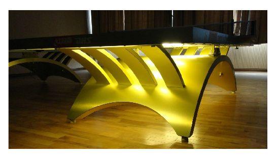 创新型的金彩虹和大彩虹如何区别_具有口碑的金彩虹兵乓球台品牌推荐