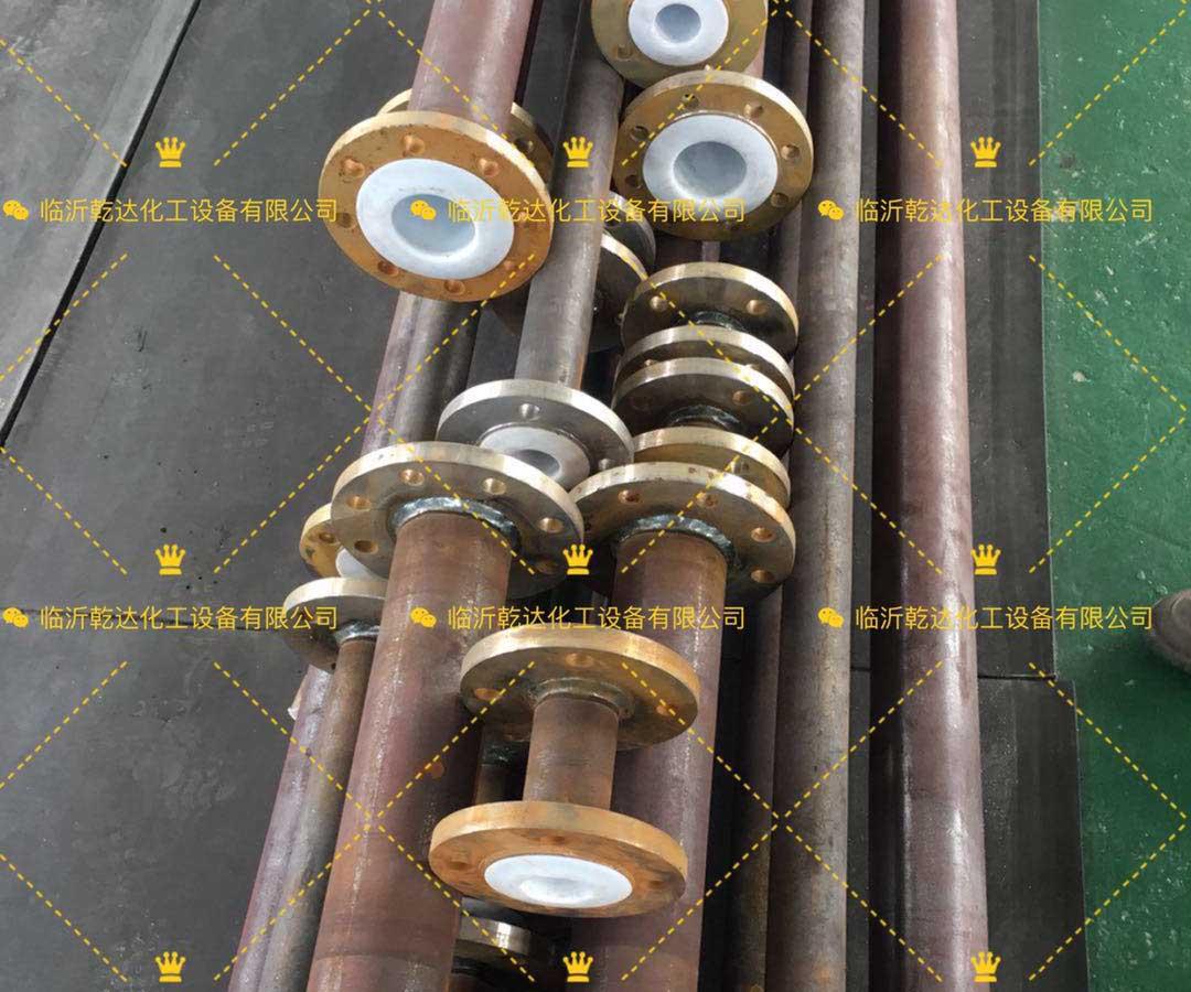 选购价格优惠的钢衬四氟管道就选乾达化工设备,贵州电除雾器电晕线批发