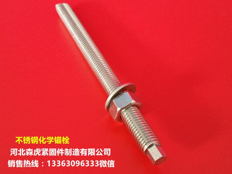 供应河北厂家直销的不锈钢化学锚栓-不锈钢化学锚栓专卖