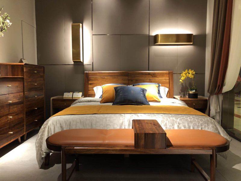 佛山优惠的全实木床供销 双人实木床价格