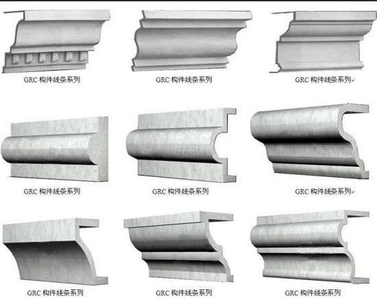 欧式别墅水泥构件,供应秦皇岛好用的GRC欧式构件